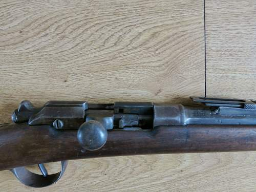 Latest item in collection French Gras Rifle
