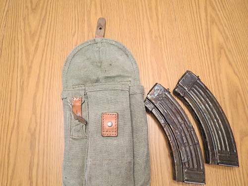 Released from my storage cosmoline soaked AK mags.