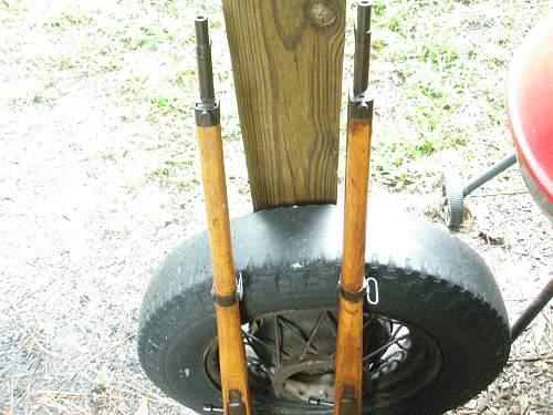 Two Japanese Arisaka Type 99 Rifles