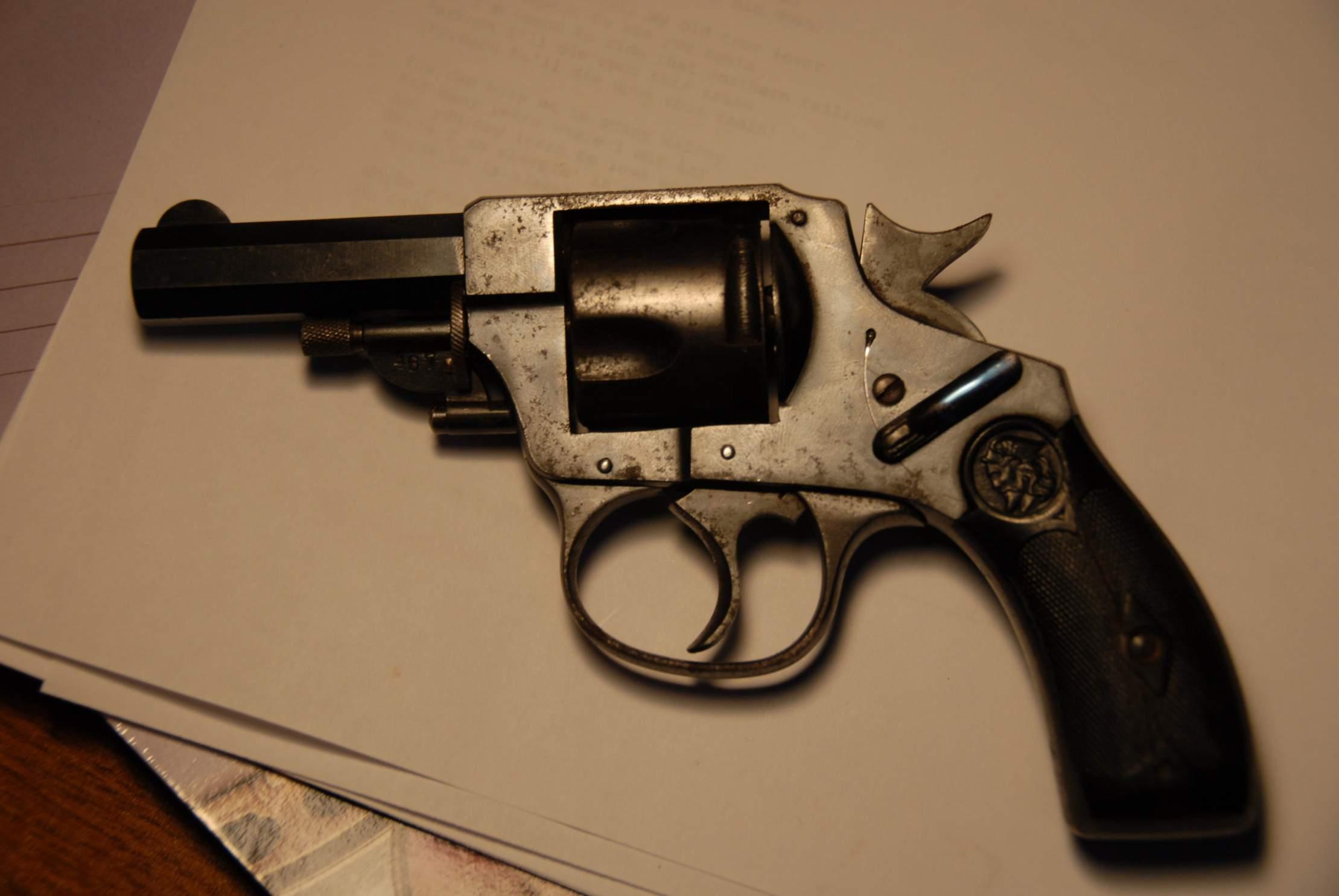 munition revolver eibar 8mm