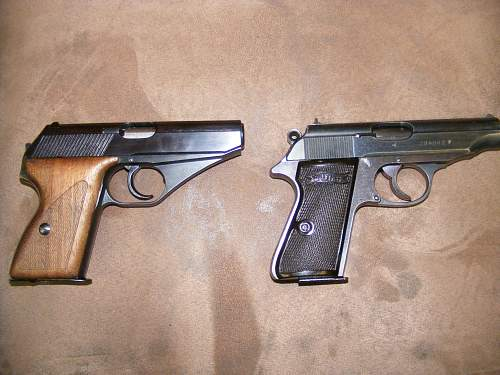 Look what walked in to the shop today. Mauser HSC and walther PP