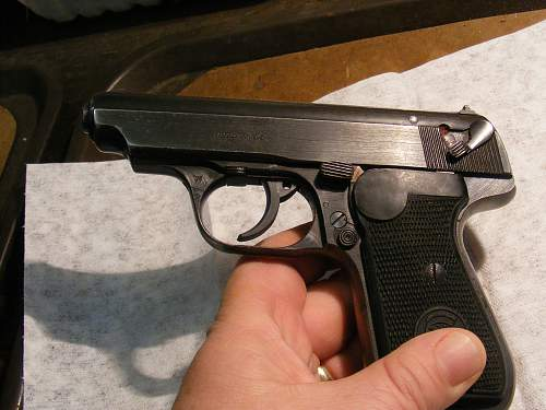 Sauer H38 and Another pistol that walked into the gun shop a month ago.