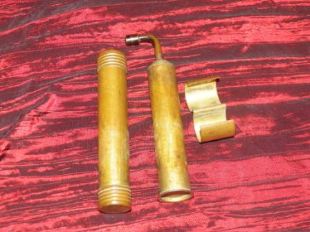 Can anyone identify this all brass dual tube fuel and wick system?