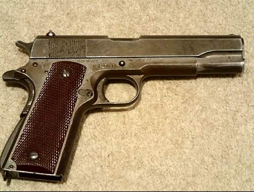 Help with my 1911A1!