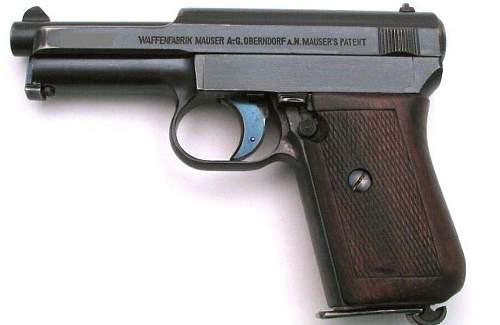 ODD mauser 1934 pocket pistol