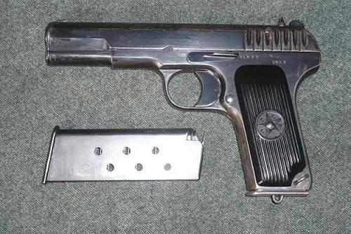 TT-30 Tokarev- marking identification