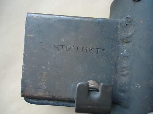 An Old Sten Gun Mk1*