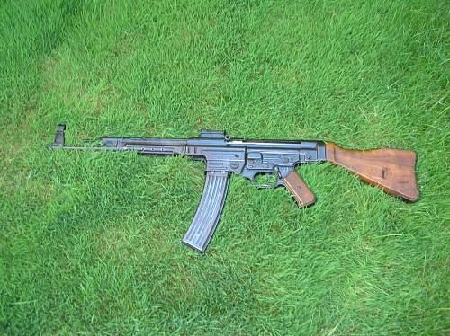 MP 44 found in a closet
