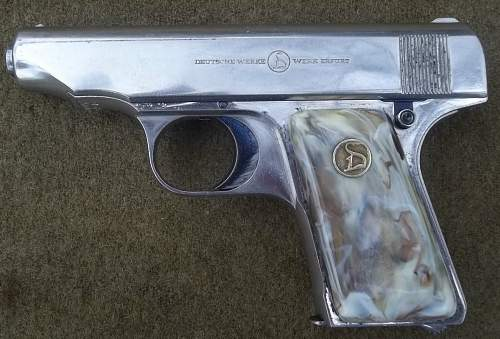 Ortgies Delux Pistol  6.35mm
