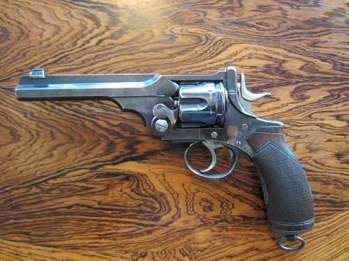 Click image for larger version.  Name:Webley revolvers 005.JPG Views:153 Size:156.4 KB ID:487684