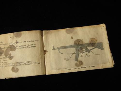 Maschinenpistole 44, book, help needed