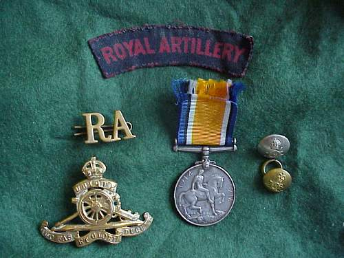 Royal Artillery I'd Webley Mk VI