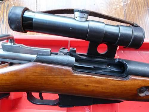 Mosin Nagant Sniper.