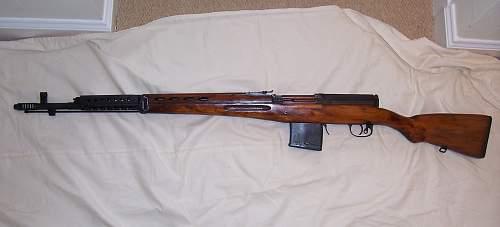 SVT sniper rifle scope??