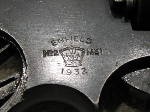 Enfield No 2 Mk 1 Revolver