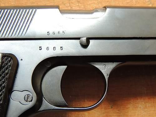 Pistol Vis 35 radom - grade ?