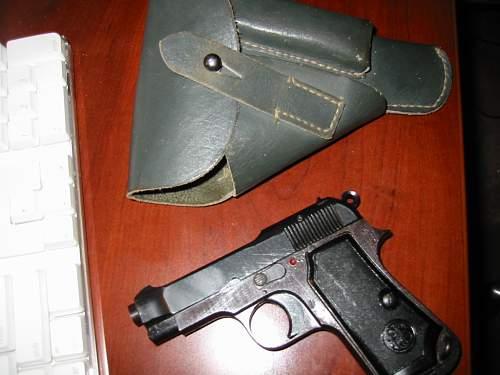 Beretta M-35 'Parkerized' 4UT Proofed
