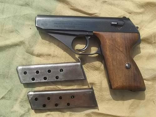 Mauser HSc Luftwaffe Issue