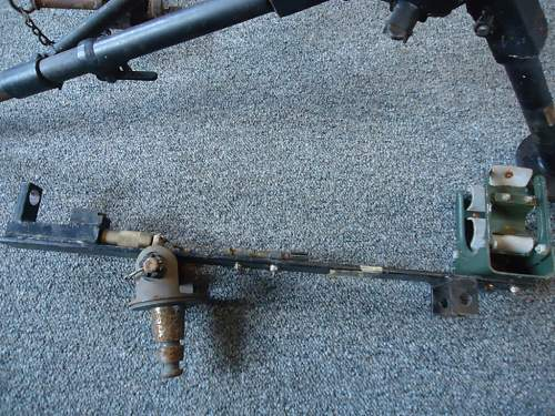 M2 .30 Browning Tripod and a peculiar adaptor