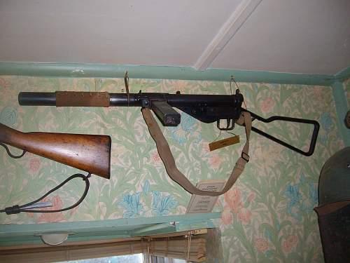 Sten gun stocks