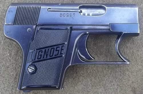 Lignose Model 2A  Einhandpistole