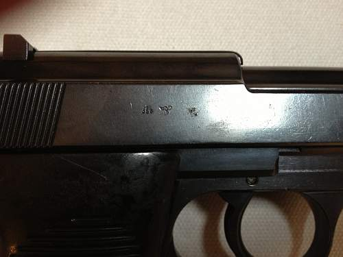 Latest recorded 480 code Walther P.38?