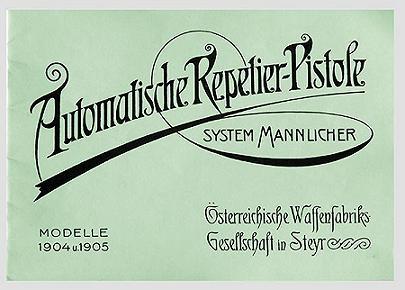 Mannlicher Pistol Model of 1905