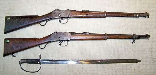 Martini Henry Mk11 Artillery carbine