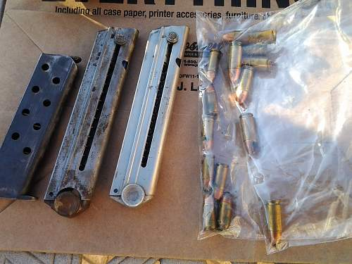 German Weapons cache found, and then cleaned