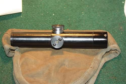 Picked up this '43 Progress PU scope