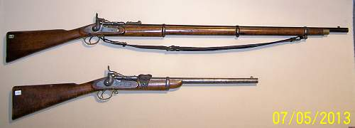 Click image for larger version.  Name:Mk.III Rifle & Cavalry Carbine (1).JPG Views:420 Size:195.3 KB ID:509425