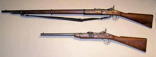 Click image for larger version.  Name:Mk.III Rifle & Cavalry Carbine (2).JPG Views:1663 Size:201.7 KB ID:509426