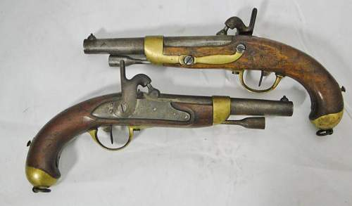 French percussion pistols. what are they and what are they worth?