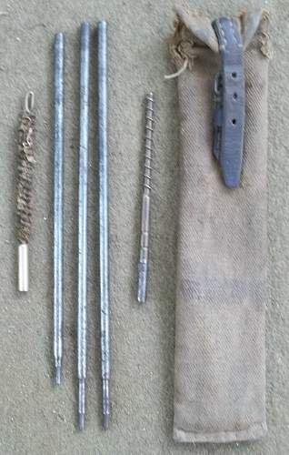 Japanese Squad Leaders 7.7mm Rifle Cleaning Kit