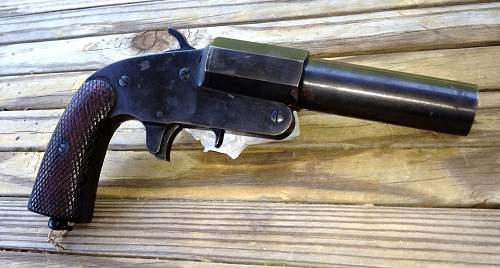Vallue of Russian Flare Pistol