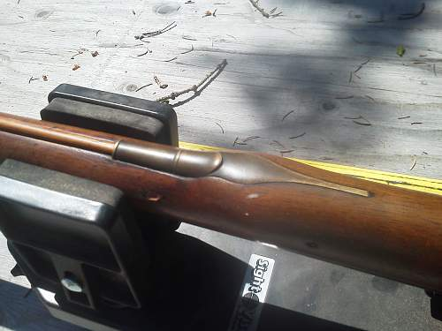 "70"" Brown Bess musket"