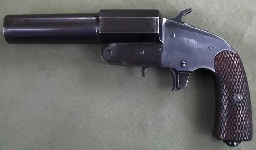Russian 1941 Flare Pistol
