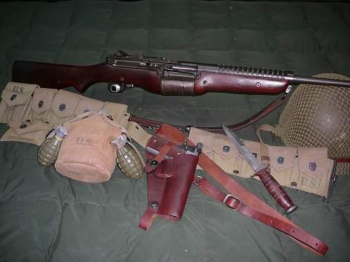 some ww2 rifles