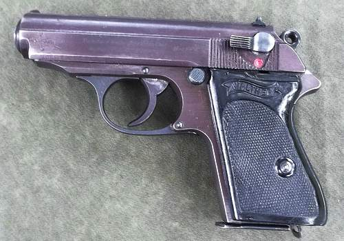 """Walther PPK 1944 'Plum"""" Color"""