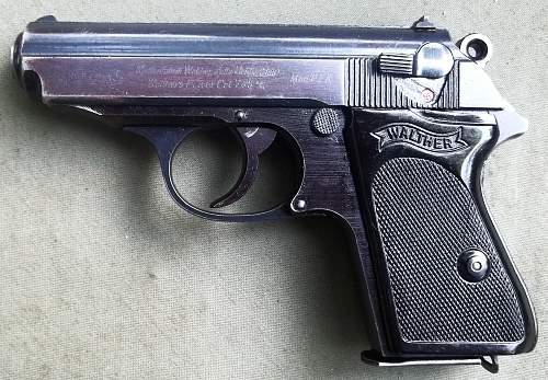 Walther PPK 'DURAL' 1943 Mfg.