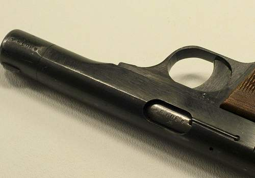 1943 produced browning M1922