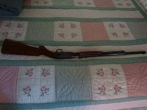 Browning 22 Pump Rifle