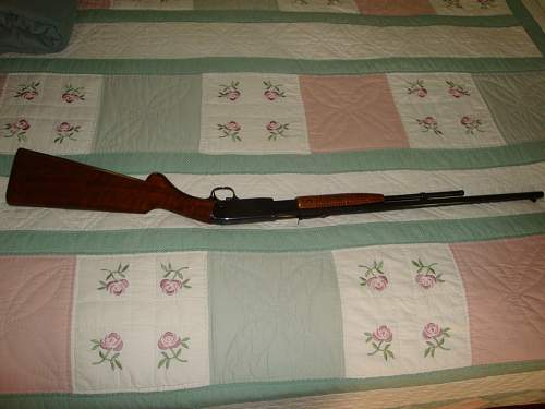 Browning 22 Pump Rifle