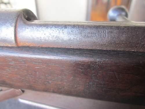 1890 GEW.88 Rifle