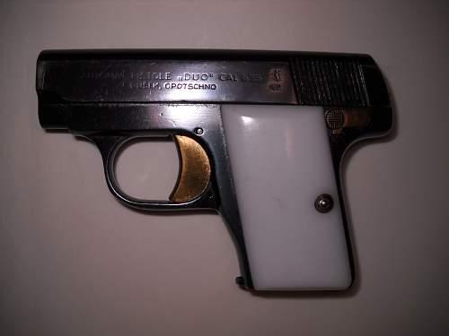 Czech 'DUO' 6.35mm Pistol