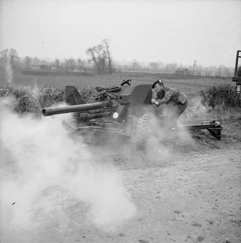 British 6prd Anti tank gun manual