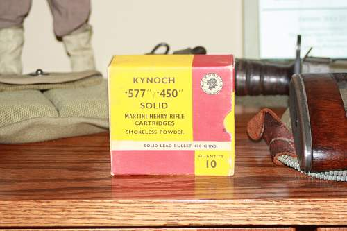 Found 2 boxes of Kynoch MH .577/.450 yesterday