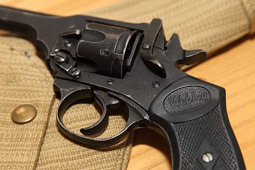Webley .38 Service Revolver