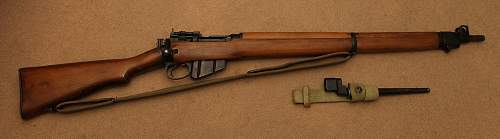 Help with Lee Enfield  no.4 Rifle.