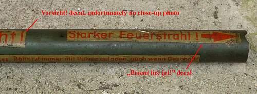 Panzerfaust help